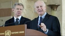 دي ميستورا: وقف إطلاق النار في سورية ليس محددا
