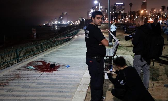 """""""ماحاش"""" يحقق بإعدام منفذ عملية جريح في يافا"""