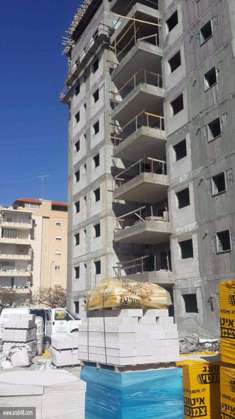مصرع عامل من دير حنا إثر سقوطه بورشة عمل بمنطقة حيفا