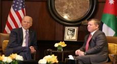 """الأردن: محادثات بين العاهل الأردني وبايدن حول """"مكافحة الإرهاب"""""""