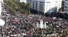 الرباط: مئات الآلاف يتظاهرون تنديدًا ببان كي مون
