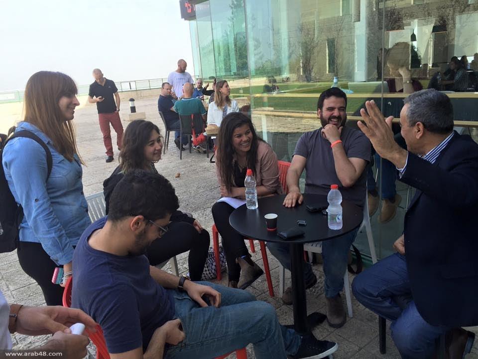 حيفا: التجمّع الطلابي يستضيف زحالقة في لقاء تثقيفي