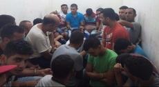 الشرطة تعتقل 16 عاملا من الضفة في منطقة حيفا