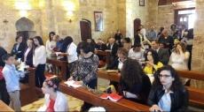 عكا: كنيسة اللاتين تحتفل بأحد الشعانين