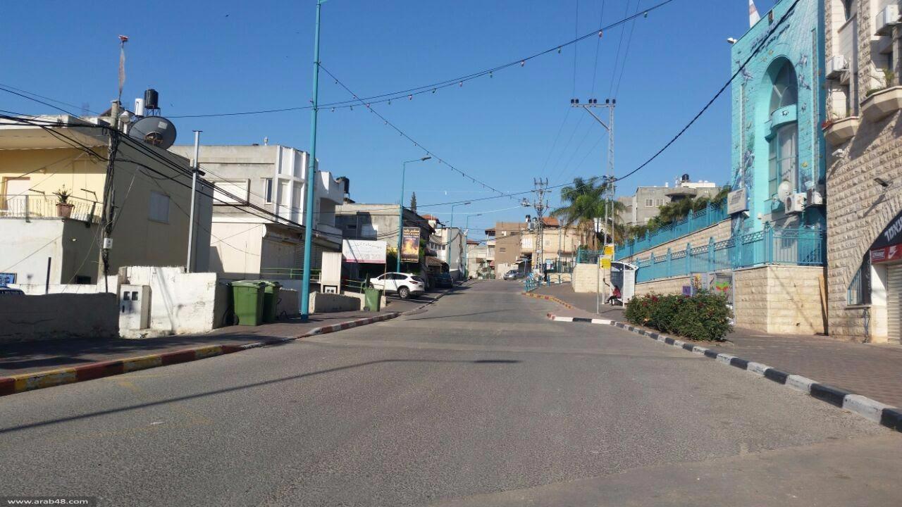 الناصرة تلتزم بالإضراب إحياء لذكرى يوم الأرض
