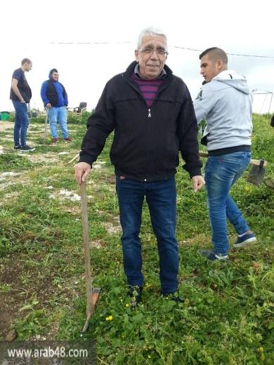 إقرث: عمل تطوعي إحياء لذكرى يوم الأرض