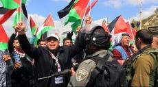"""الضفة الغربية: إصابات خلال قمع الاحتلال لمسيرات """"يوم الأرض"""""""