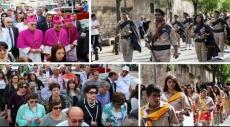 الناصرة: مسيرة احتفالية بعيد البشارة