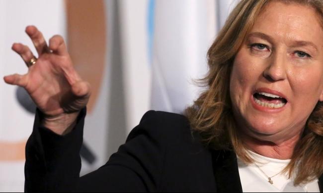 ليفني تعارض الانضمام لحكومة نتنياهو