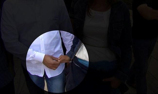 الأقصى: زوجان يهوديّان يؤديان طقس زواجهما بباحاته