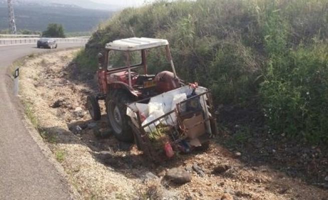 عرابة: مصرع مسن في حادث بين شاحنة وجرار