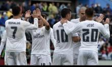 ريال مدريد يسحق خيتافي ويقلص الفارق عن برشلونة