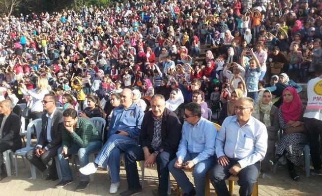 نابلس: مهرجان الربيع والحرية دعما للأسرى والأطفال