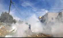 الخليل: إصابة طالبات بالاختناق بقنابل غاز أطلقها الاحتلال