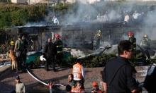 القدس: انفجار الحافلة بفعل عبوة ناسفة