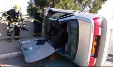 مصرع شخص في حادث سير قرب بيسان