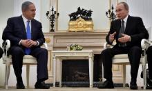 نتنياهو: تم حل مشاكل أمنية مع روسيا بسورية