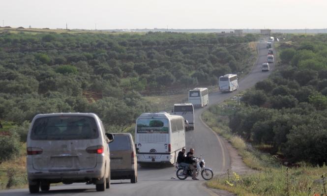 سورية: إجلاء 500 شخص من مناطق محاصرة