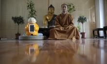 راهب روبوتي يمزج بين العلم والبوذية