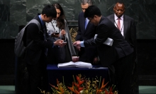 الأمم المتحدة: توقيع اتفاق باريس حول المناخ