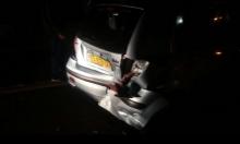 إصابة امرأة بشجار بالبعنة وحادث سير بشارع 85