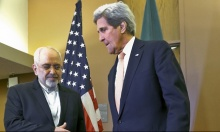 كيري وظريف يبحثان رفع العقوبات عن إيران