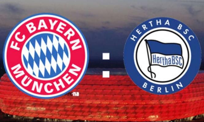 مشاهدة مباراة بايرن ميونخ وهيرتا برلين بث مباشر بتاريخ 23-02-2019 الدوري الالماني