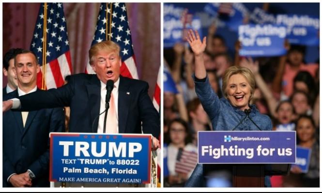 كلينتون وترامب يأملان حسم السباق الرئاسي مبكرًا