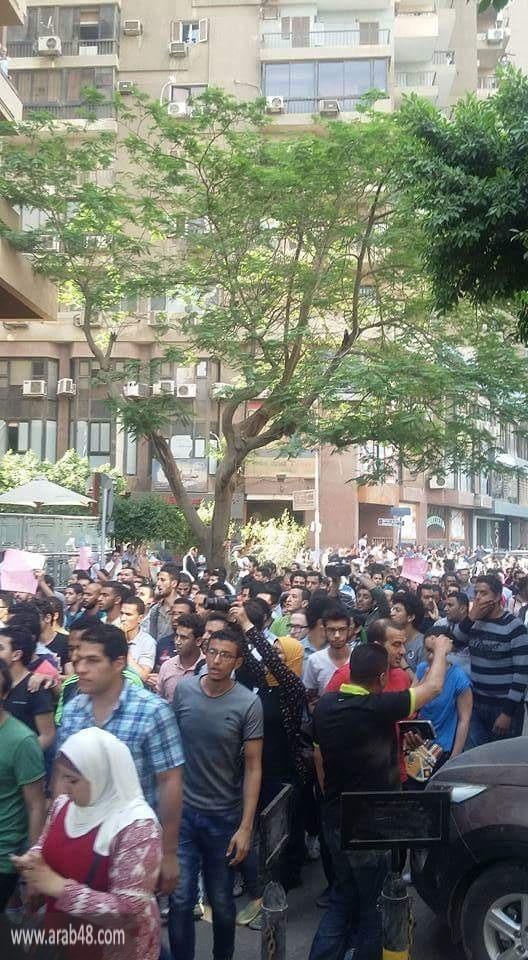 مصر: الأمن يفض مظاهرتين حاشدتين بالجيزة