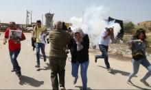 الاحتلال يفرق وقفة تطالب بالإفراج عن عمر نزال