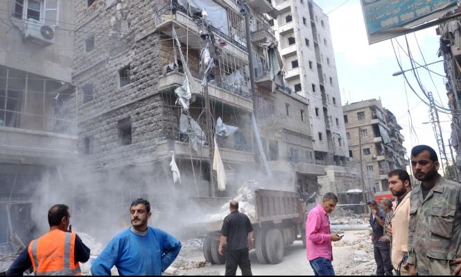 حلب: عشرات القتلى بقصف جوي روسي على مستشفى
