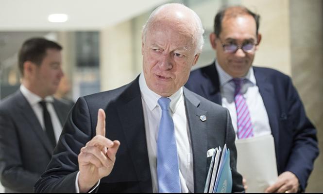 سورية: دي ميستورا يدعو لمبادرة أميركية روسية عاجلة