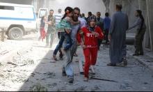 حلب تتعرض اليوم السبت لـ 20 غارة جوية