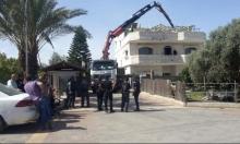 هدم منزلين لمواطنين عربيين في اللد