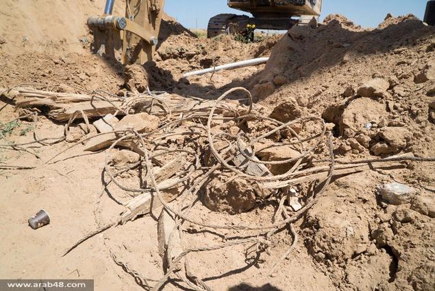 جيش الاحتلال يكشف نفقا هجوميا ثانيا من غزة لإسرائيل