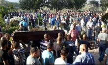 دير حنا: جماهير غفيرة تشيع جثمان الشاب مجدي سالم