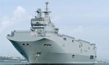 فرنسا: تدريب للبحرية المصرية على متن ميسترال