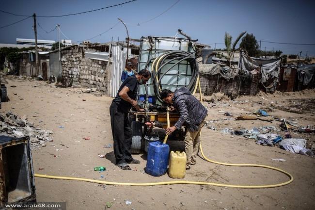 غزة: أزمة المياة تزيد الظروف المعيشية قسوة