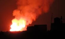 أنباء عن قصف إٍسرائيلي لقافلة أسلحة لحزب الله