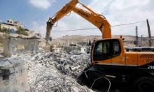 الولجة: جرافات الاحتلال تهدم منزلا قيد الإنشاء