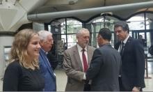 عبد الفتاح يلتقي كوربين في لندن