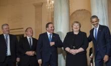 الرئيس الأميركي يستقبل قادة دول شمال أوروبا وينتقد بوتين