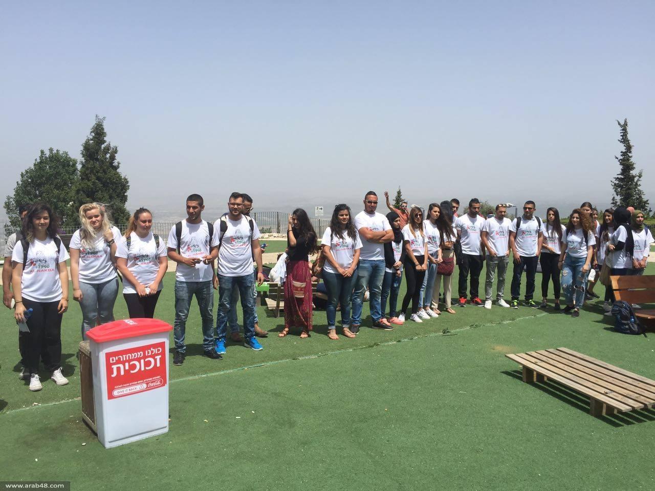 الطلاب العرب في جامعة حيفا يحيون ذكرى النكبة