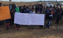 إضراب مدارس بالنقب: إغماء طلاب لانعدام الماء والكهرباء