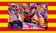 برشلونة: حظر علم كتالونيا اعتداء على حرية التعبير