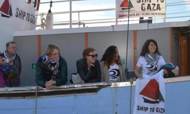 حملة عالمية لنصرة القوارب النسائية المتجهة لغزة