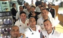 صور: فلفلة كفر قاسم يستعد لبطولة أوروبا بكرة القدم الشاطئية