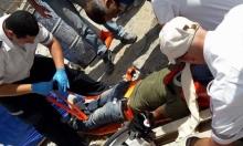 إصابة عامل عربي في ورشة بناء بنتانيا
