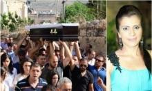 كفر كنا: تشييع الفقيدة جمانة جرايسي بأجواء حزينة