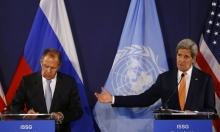 كيري للافروف: فليوقف النظام قصف المعارضة